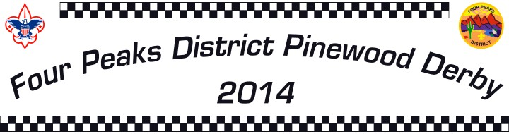 Four Peaks District Pinewood Derby 2013